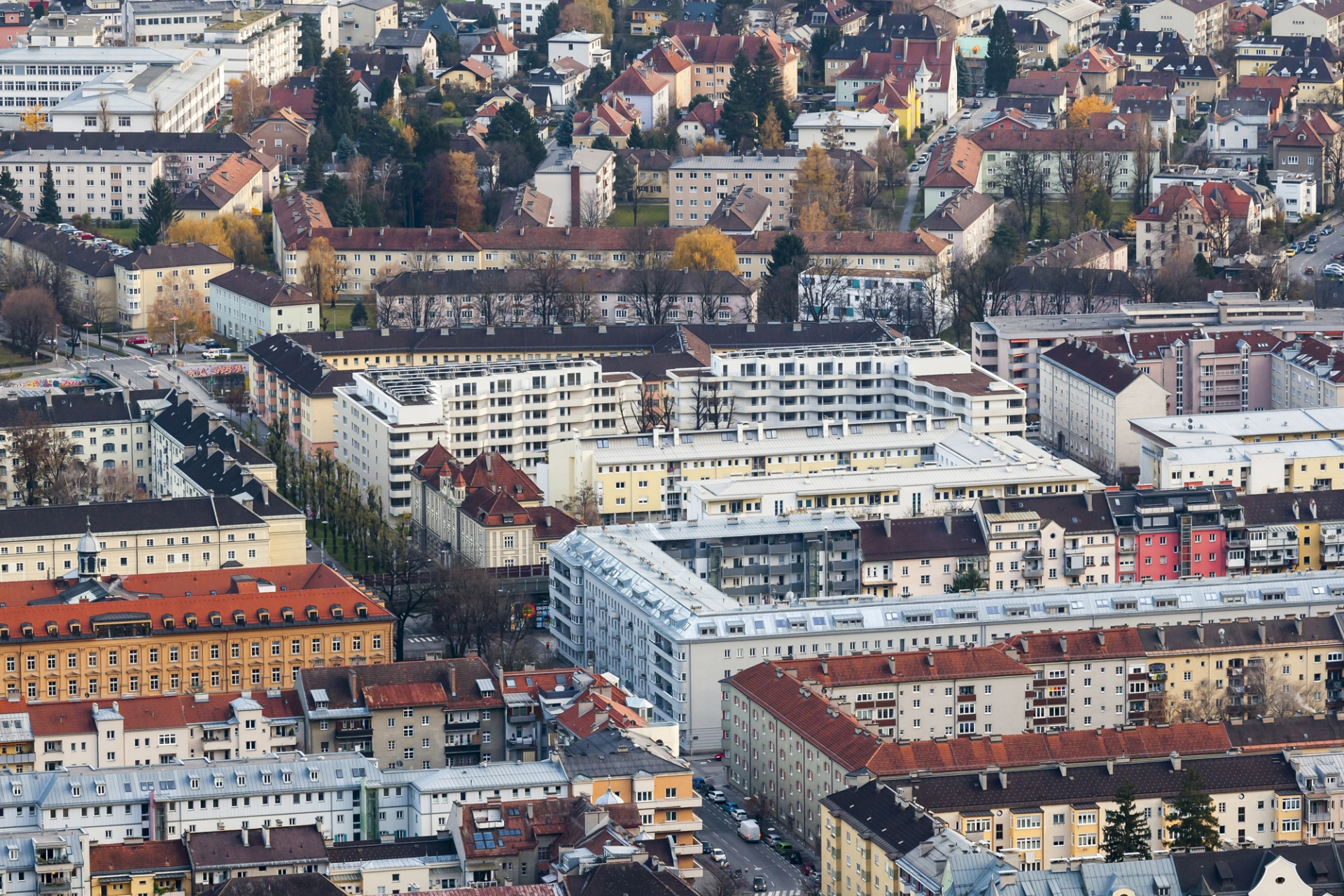 Schenker Salvi Weber Sillblock Housing Estate Innsbruck