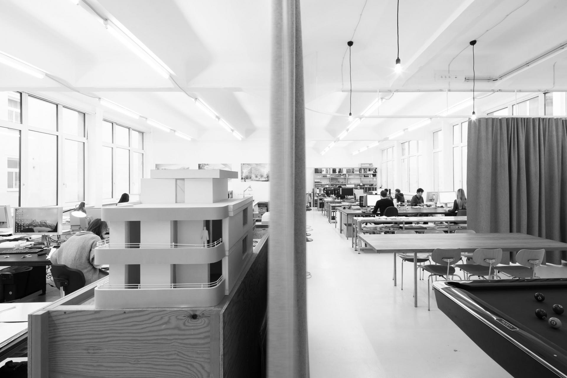 Schenker Salvi Weber Büro