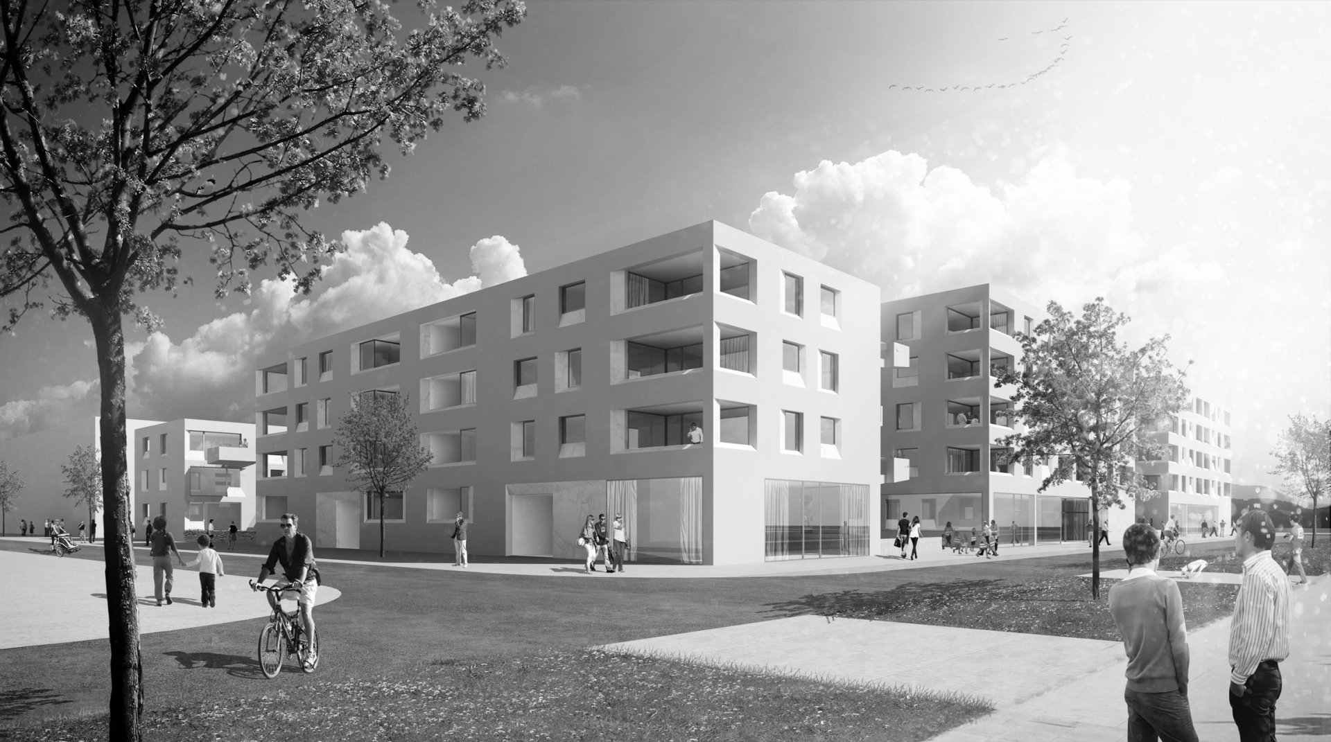 Schenker Salvi Weber Munich Riem Residential Project