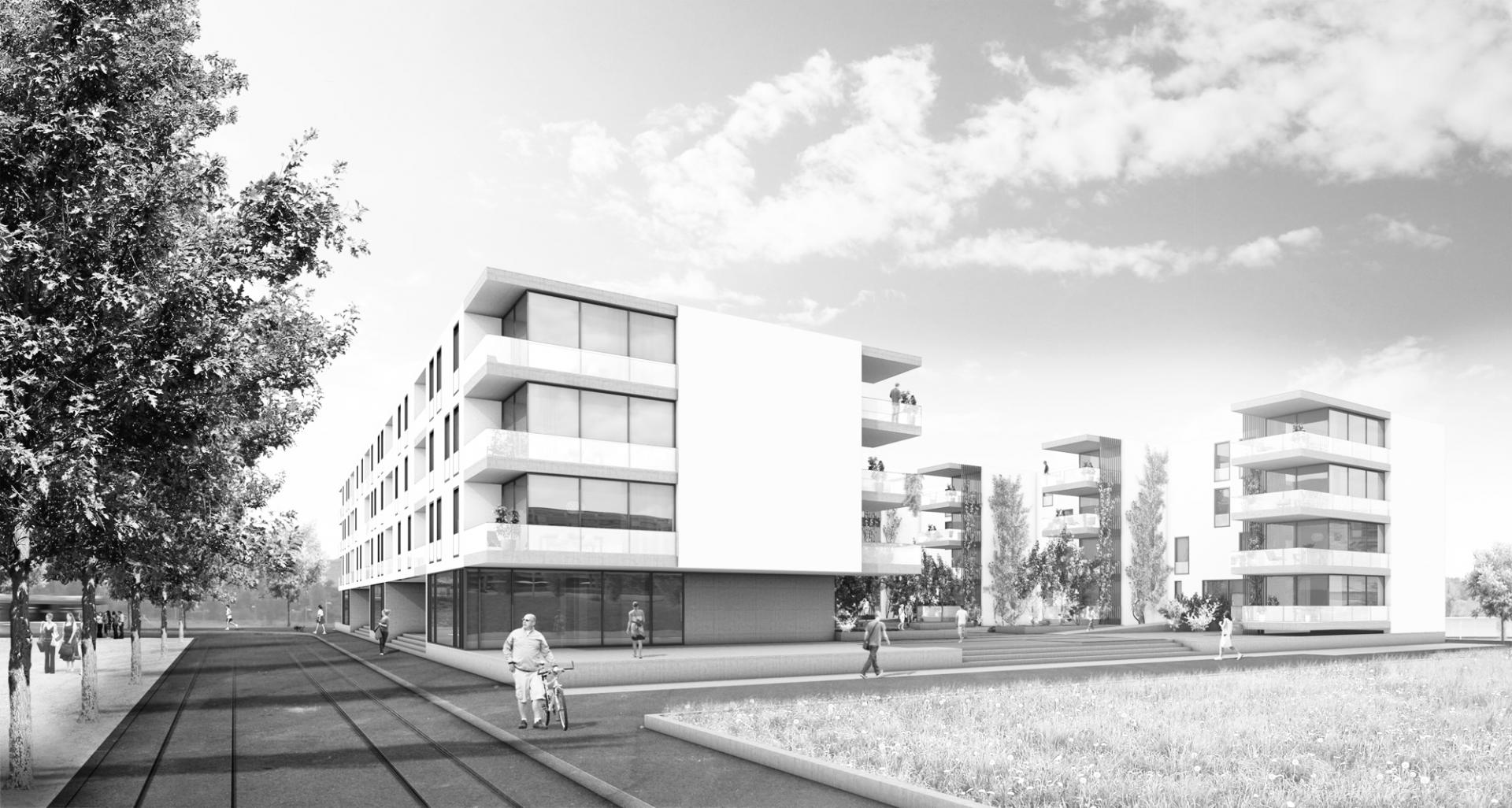 Schenker Salvi Weber Wohnüberbauung Brünnen Bern
