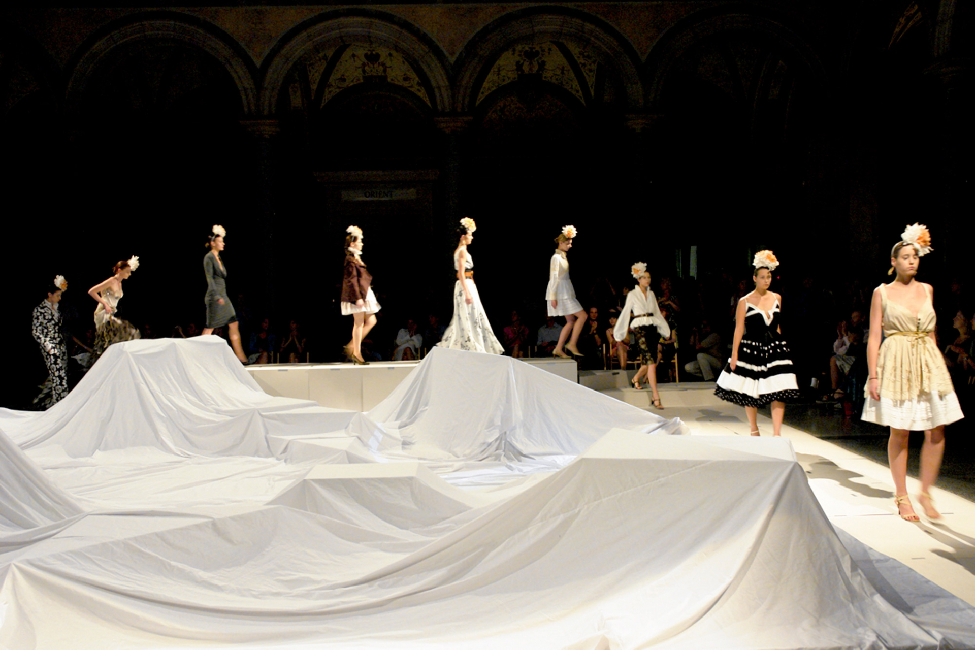 Schenker Salvi Weber MAK Nite Fashion Show Vienna