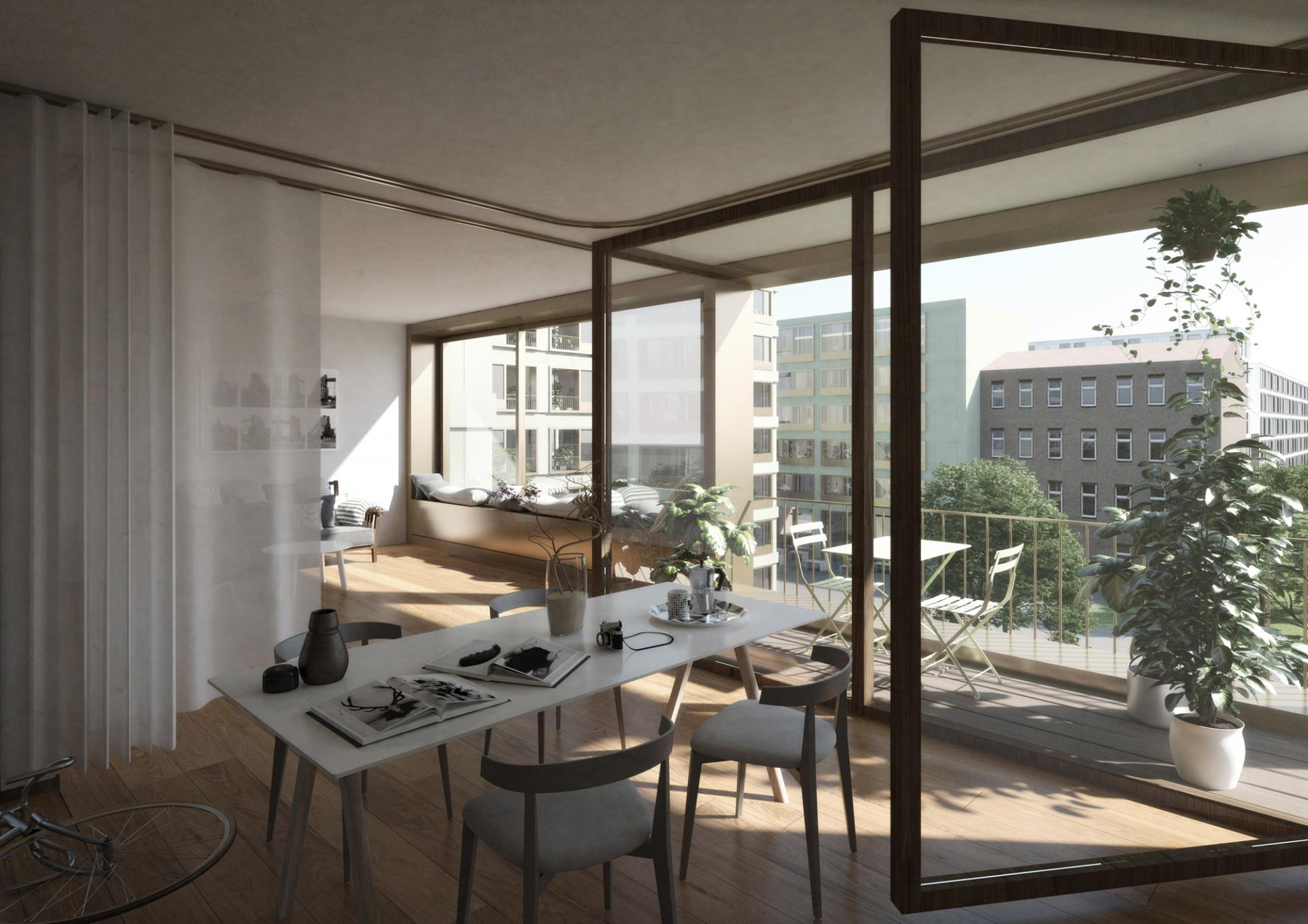 Schenker Salvi Weber Wohnbebauung Heidestraße Berlin