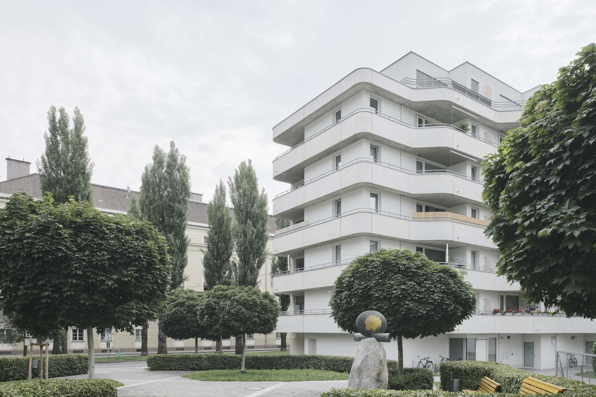 Schenker Salvi Weber Sillblock Housing Estate Innsbruck